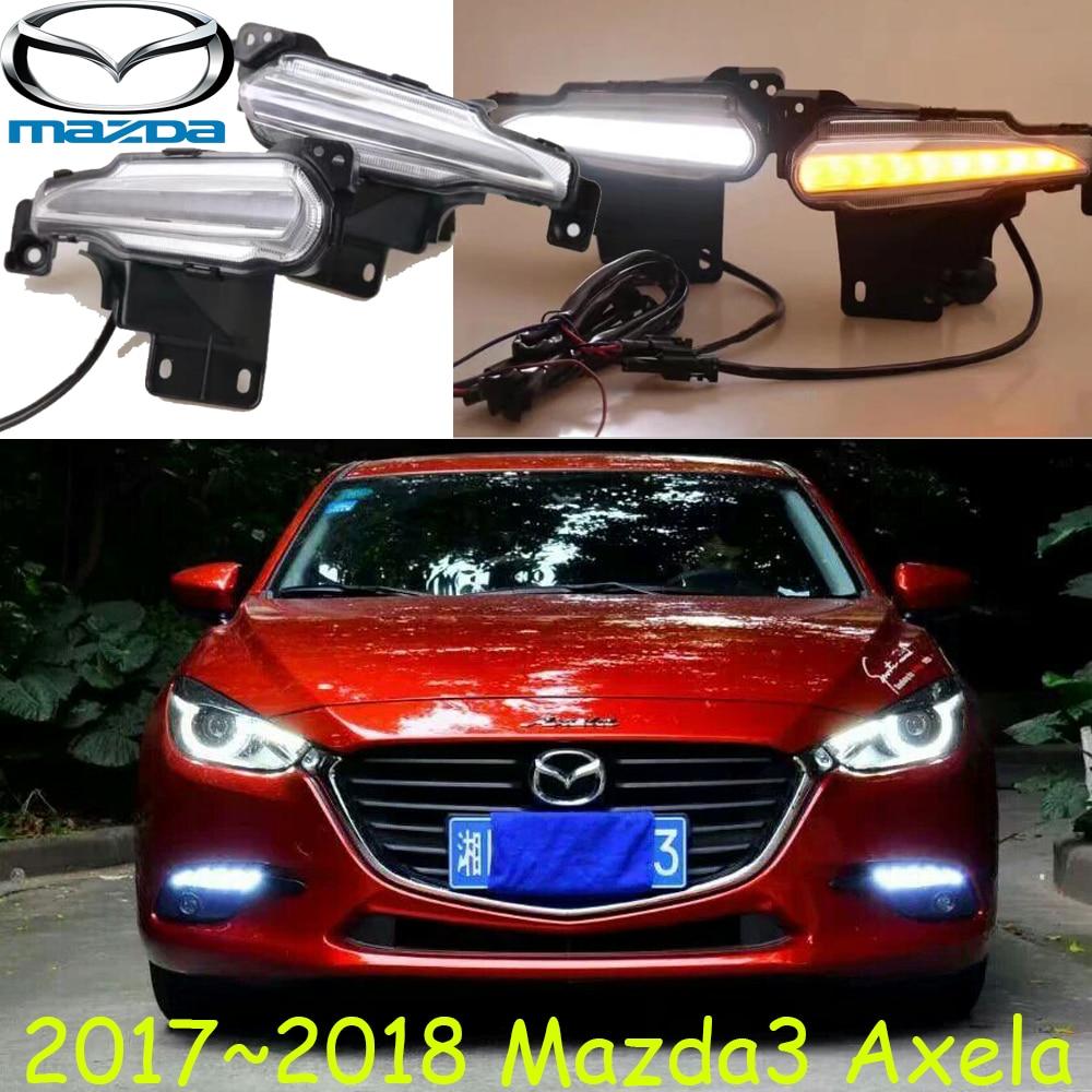 Axela daytime light,2017 2018 year,Tribute,RX-7,RX-8,Protege,MX-3,Miata,CX-3,Free ship!LED,MAZD3 fog light,car covers,cx-5,axela