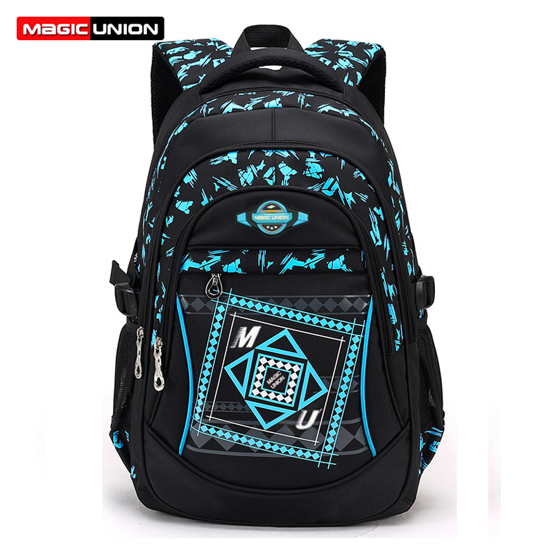 MAGIC UNION Children School Bags For Girls Boys High Quality Children Backpack Primary School Backpacks Fashion Waterproof Bags цена и фото