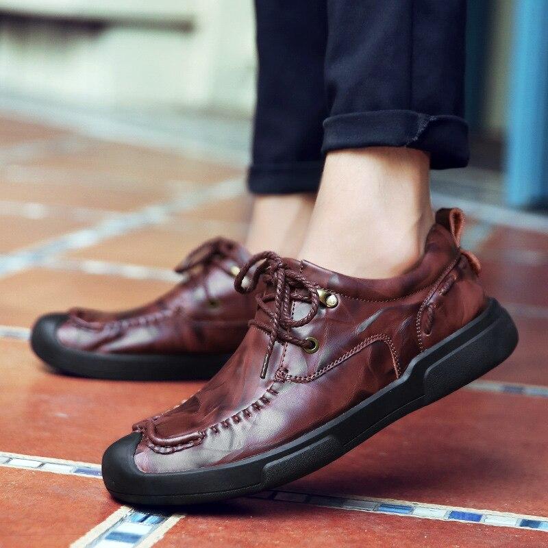 Respirant Black Taille Chaussures 44 red Homme De Haute Backcamel En D'affaires Manuel Brown Brown 38 Cuir Loisirs Casual Tendance light Hommes Qualité Décontractée tUtwcOq8