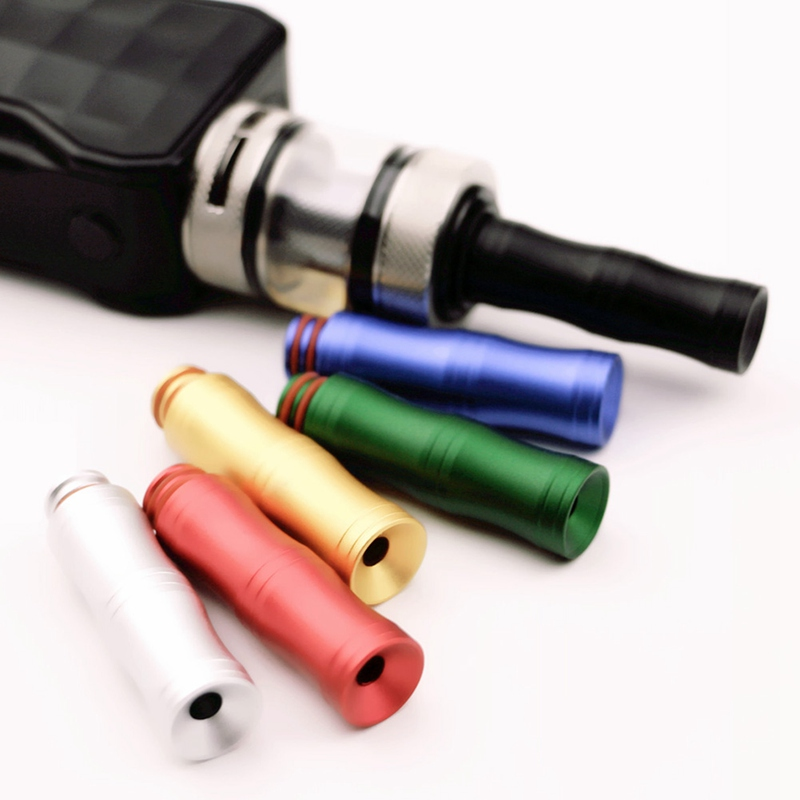 E Cigarette Acrylic Drip Tips Colorful Mouth 510 Drip Tip E For RDA RBA Vaporizer