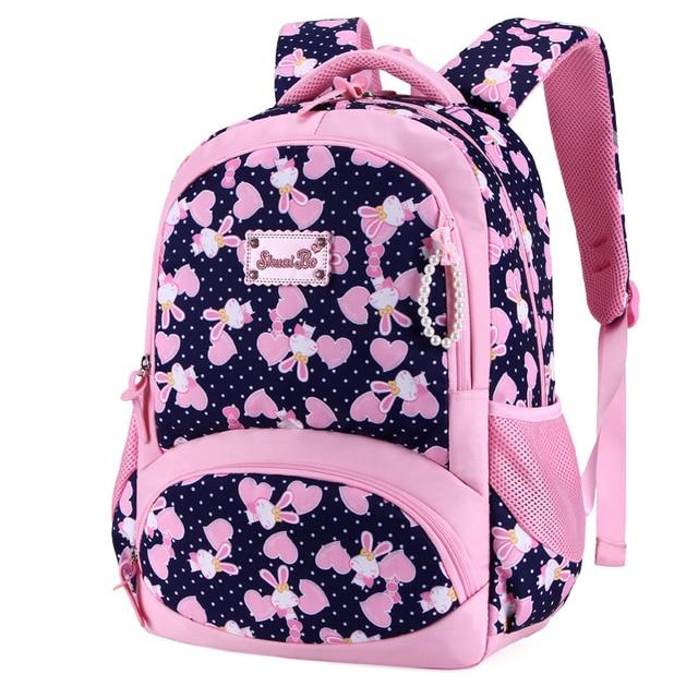 022661b648a Nowości plecak szkolny dla dziewczynek na co dzień Cartoon szkoła  podstawowa szkoła klasy 1-4