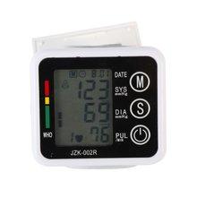 Здравоохранение Цифровой Автоматической Наручные Монитор Кровяного Давления Метр Сфигмоманометр Манжеты для Измерения Артериального Давления Здравоохранения LY6