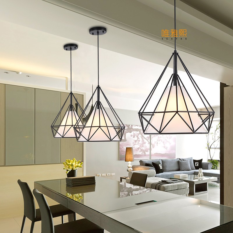 Modern Led Conical Pendant Light Aluminummetal Home Industrial Lighting Hang Lamp Dining Living Room