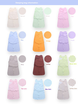 Colorful Candy Color Sleeping Bag with Zipper 10