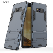 For Samsung Galaxy Note 8 Case ,LDCRE Hard Rubber Phone Cover for SAMSUNG NOTE8 N9500 Coque