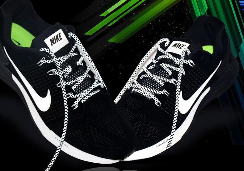 1 пара 100/120/140/160 см флуоресцентные кроссовки шнурков спортивные шнурки 3 м отражающий круглый обувь на шнуровке кружева светлые шнурки