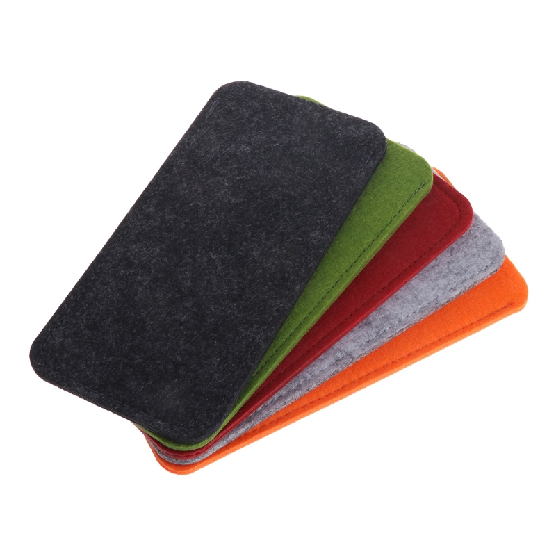 Eyewear Accessories Special Section Felt Sunglasses Bags Cases Portable Soft Glasses Package Glasses Accessories Non-Ironing