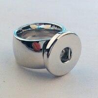 6 pcs/lote kết hợp kích thước 8,9, 10 Thời trang thép không gỉ Nhẫn Đối với phụ nữ, 18mm nút gừng tắc nhẫn Jewelry For Men