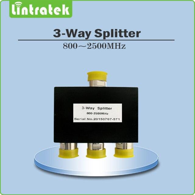 3-way splitter силы 800-2500 мГц усилитель сигнала 3 way splitter для антенный кабель