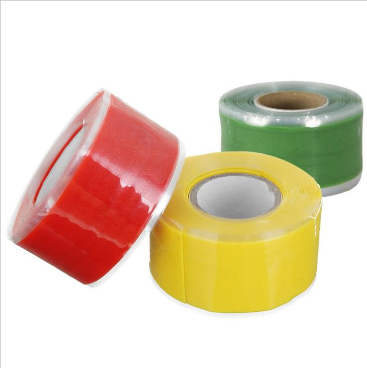 Hot 1.5M Rubber Silicone Repair Waterproof Bonding Tape Rescue Self Fusing Wire