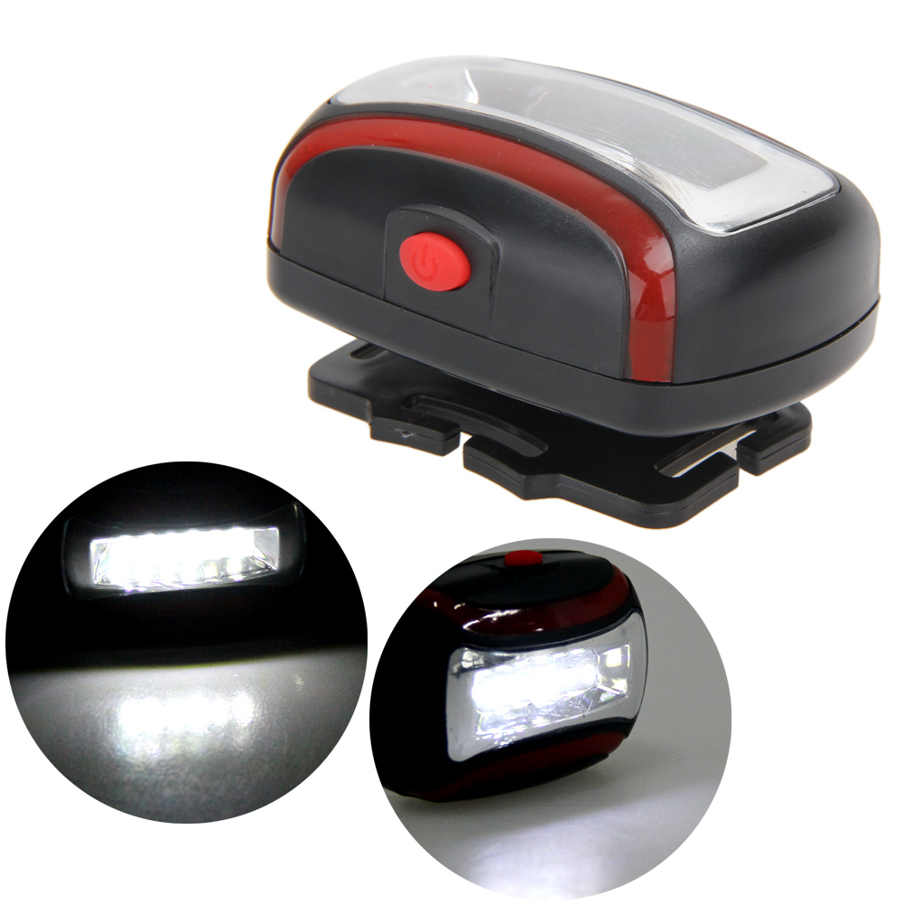 Professional 600LM COB LED Headlamp 3 Modes Headlight Torch Lamp Adjustable Angle Bicycle Lights use AAA Batteries