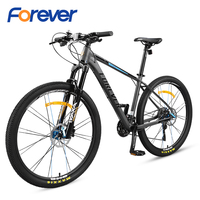 FOREVER New 30 Speed Bicycle Wire controlled Locking Fork Change Wheel Hydraulic disc brake MTB Bike 27.5 inch