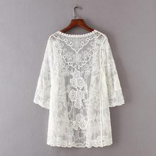 Buy White Crochet Cardigan And Get Free Shipping On Aliexpresscom