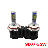 High Quality P6 9007 110W Car Replacement Headlight LED Bulb 10400LM 3000K 4000K 5000K 6000K MZ