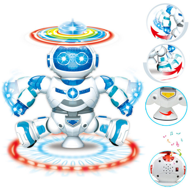 2018 Hot Sale Robots Electronic Walking Dancing Smart Space Robot High  Quality Astronaut Kids Music Light Toys Electronic Pets T-in Action & Toy