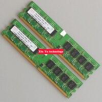 Desktop Memory Lifetime Warranty For Hynix DDR2 1GB 800MHz PC2 6400U 800 1G Computer RAM 240PIN