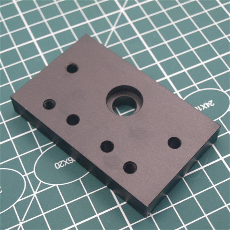 1pcs Anodized Aluminum C-Beam End Mount Plate