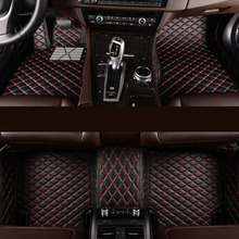 Kalaisike Custom car fußmatten für Hyundai Alle Modelle terracan accent azera lantra elantra tucson iX25 i30 iX35 Sonata