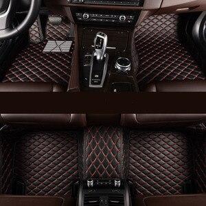 Image 1 - kalaisike Custom car floor mats for Hyundai All Models terracan accent azera lantra elantra tucson iX25 i30 iX35 Sonata