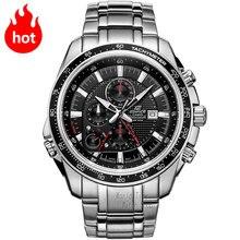 Casio watch quartz waterproof three-dimensional dial fashion sports male watch EF-545D-1A EF-545D-7A