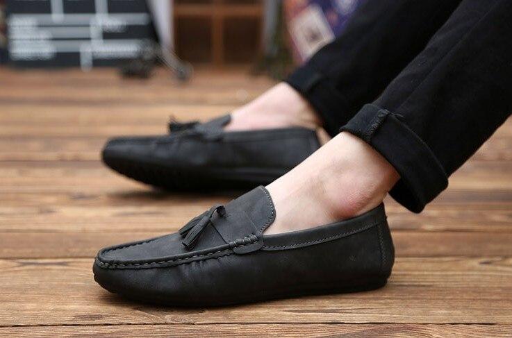 big sale 4e9ae b6a08 Lounged scarpe casual mocassini avvolgimento del piede ...