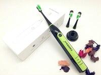 Sonic Waterproof Electric Toothbrush 4 Work Modes Sonic Electric Toothbrush With 3 Pcs Generic Toothbrush Heads