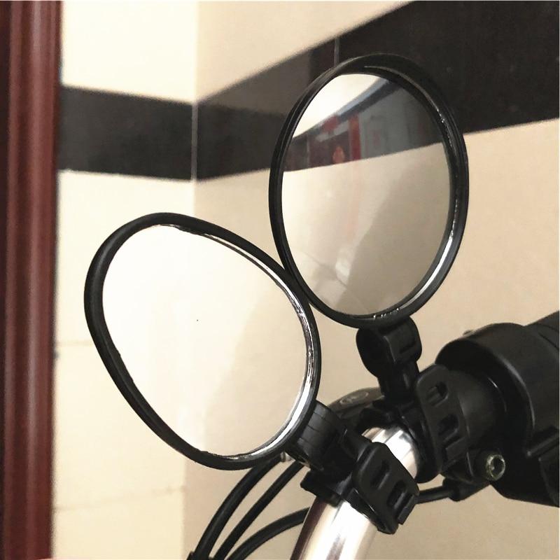 Flexible Bike Bicycle Handlebar Rear View Cycling Cycle Rearview Mirror 15-35mm