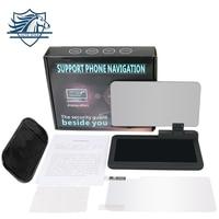 Universal Mobile Phone GPS Navigation Bracket HUD Head Up Display For Smart Phone Car Mount Stand