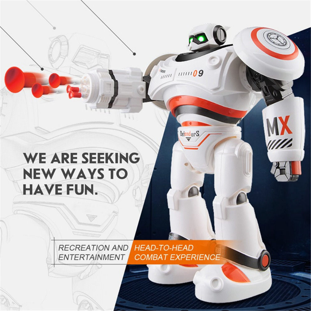 Action Toy Figures RC Robot R1 Charging  Remote Control Toy Dancing for Kids Birthday Gift Programmable Defender Intelligent kid hot sale removable armor deformable big hero 6 2015 new deformable robot baymax children s action toy figures holiday gift