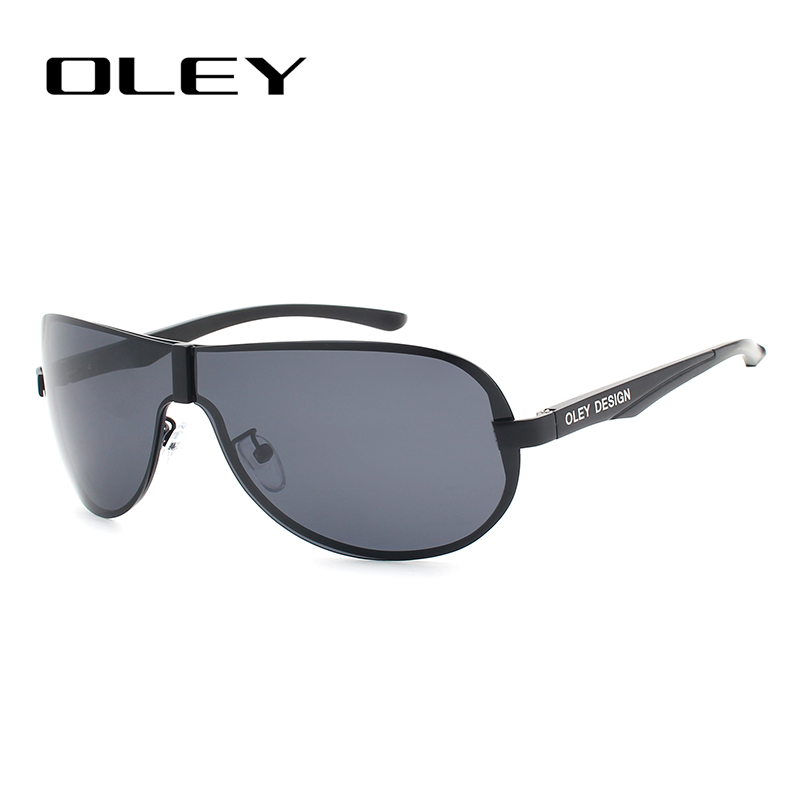e7de816a3d116 OLEY Revestimento de Espelho óculos de Sol dos homens Polarizados Óculos de  Sol de Alumínio E Magnésio óculos Masculinos Óculos Acessórios Para Homens  YA494