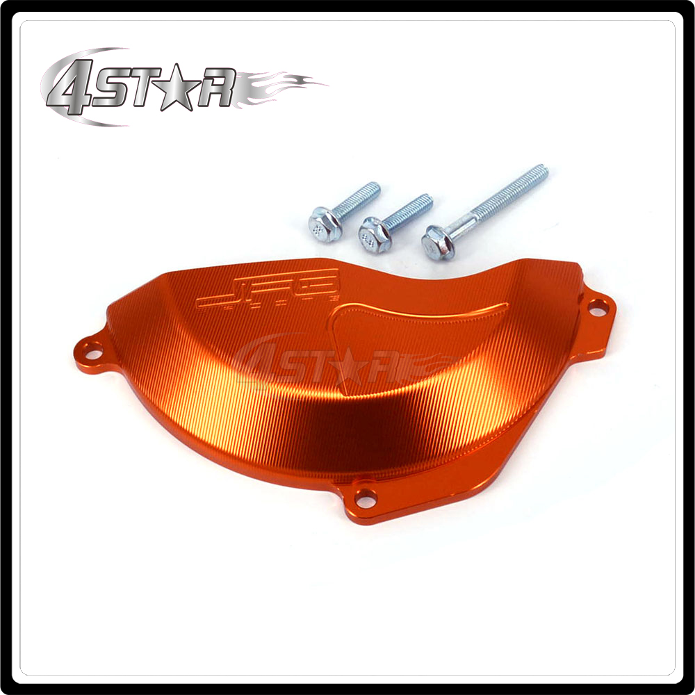 Motorcycle Right Engine Stator Cover Guard For ktm SXF250 SXF350 SXF 250 350 SX-F250 SX-F350 SX-F 2016 2017 EXC-F EXCF 350 17 motorcycle front rider seat leather cover for ktm 125 200 390 duke