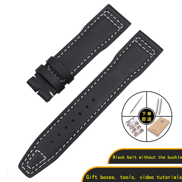 Suitable for universal Aviator Mark little prince IW327004/377714 leather watch with 20mm | Watchbands