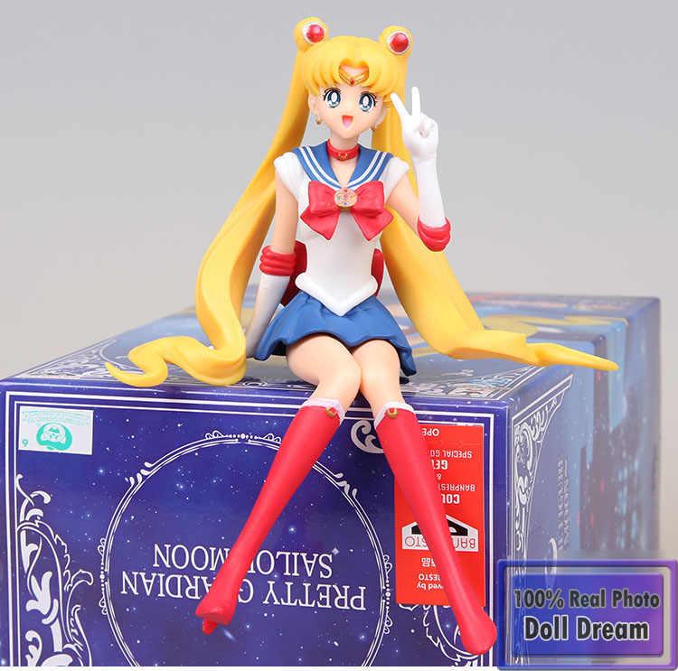 12 cm Japonês original clássico anime figura sailor moon action figure collectible modelo brinquedos para meninos