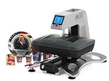 Free shipping ST-420 3D Vacuum Heat Transfer Machine Pneumatic Sublimation Printer Heat Press for Mug Phone Case T-shirt Rock