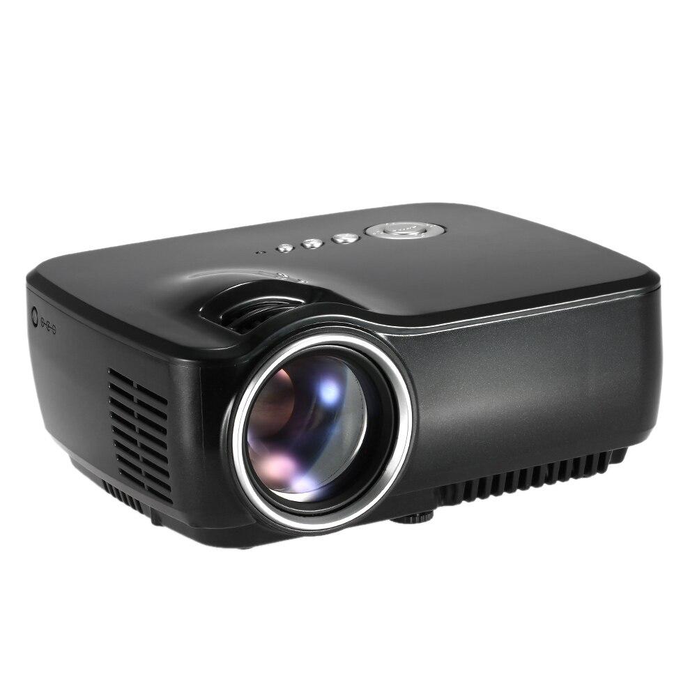 Newest GP70 HD Mini font b Projector b font 800Lumens 1080P Full HD LED Projection Machine