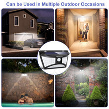 Solar Led Garden Lights Waterproof Outdoor Decorative Wireless Solar Powered LED Lawn Lamps Motion Sensor Fence Wall Yard Light(China)