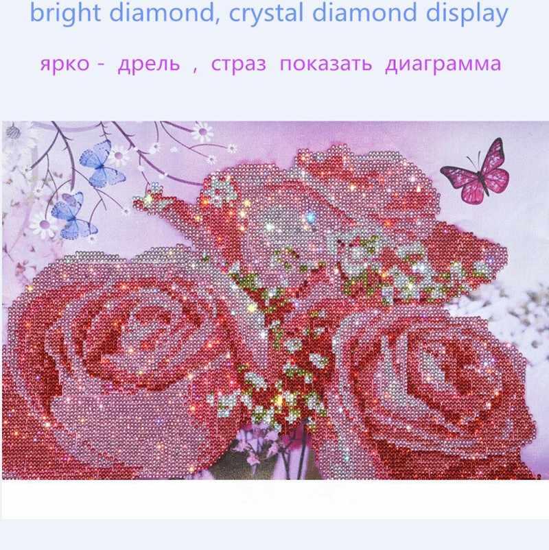 2018 New DIY pha lê Nhà Thờ Đức Bà và hoàng tử kim cương Thêu Biểu Tượng tôn giáo Pharaon Ren Chéo Nữ Thời Trang Bộ quà tặng