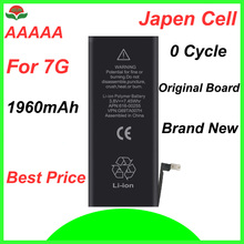 ISUN original quality  0 cycle mobile battery for iPhone 7 7G 4.7 1960mAh 3.82V replacement