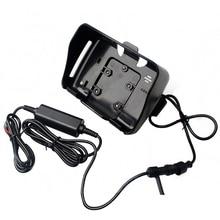 4,3 дюймов gps Аксессуары, 1 шт. держатель+ 1 шт. кабель питания подходит только для Fodsports водонепроницаемый мотоцикл мото навигация