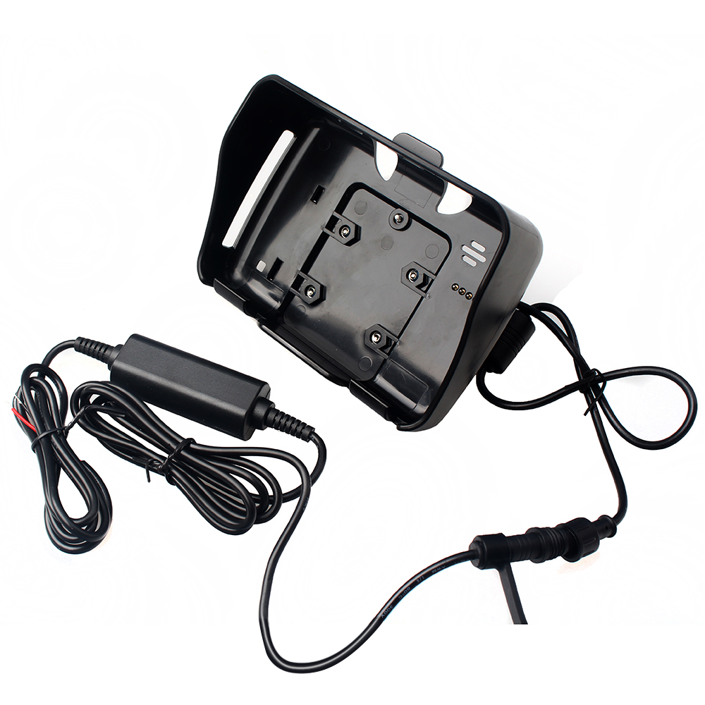 4.3 Inch GPS accessories,1 pc cradle holder+1 pc power cable Only suitable for Fodsports Waterproof Motorcycle Moto Navigation