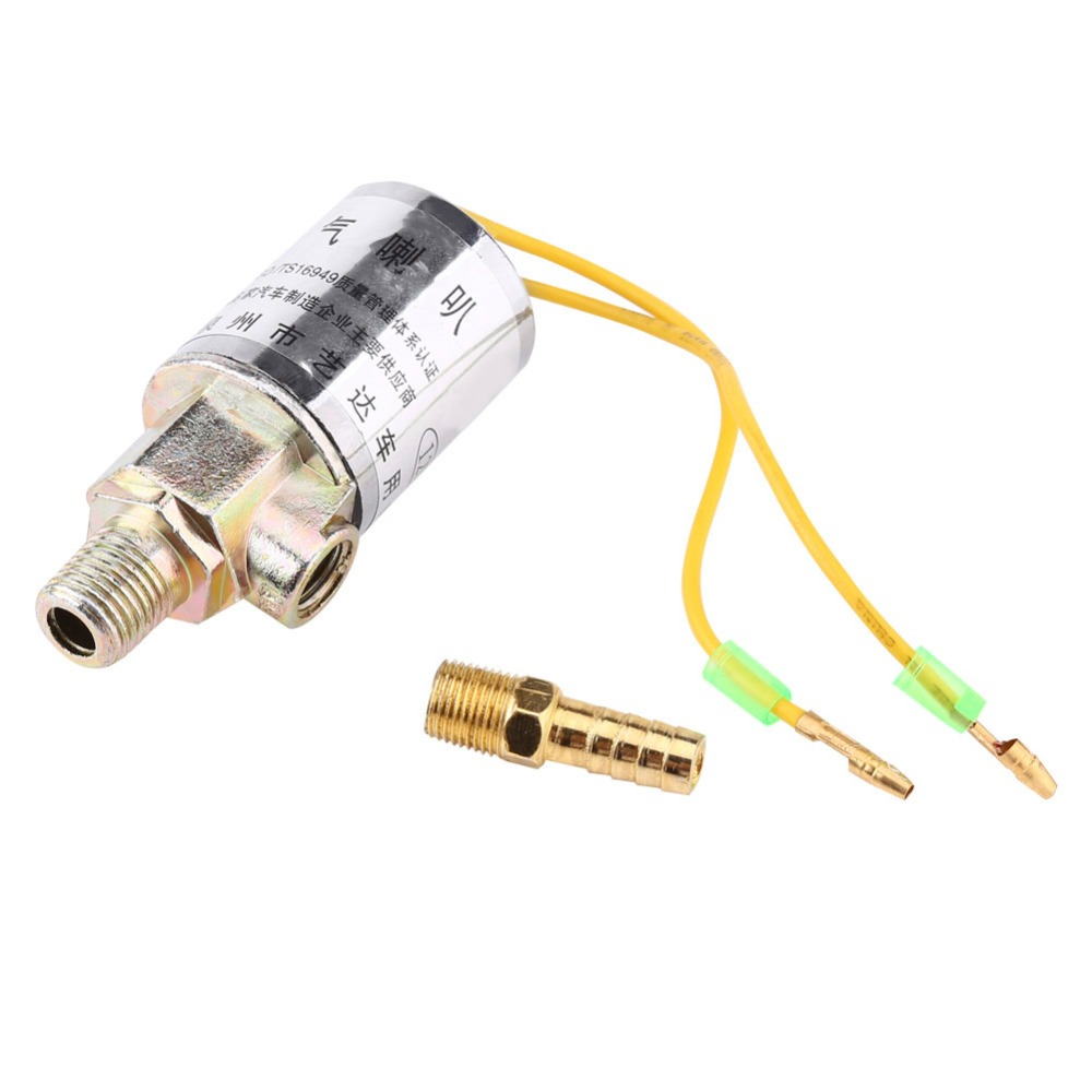 medium resolution of walfront 10pcs lot 1 4 inch metal electric solenoid valve air horns air ride systems solenoid valve 12v free shipping in valve from home improvement on