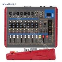 9 канал консоли цифровой микшер для DJ Запись Studio стадии смешивания с USB DSP Bluetooth микрофон