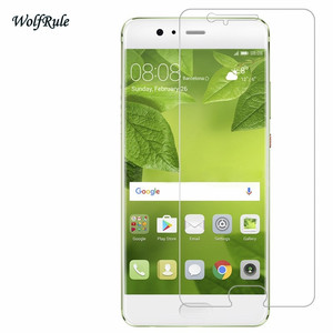Image 2 - 2PCS Screen Protector Glass For Huawei P10 Tempered Glass For Huawei P10 Glass Phone Film For Huawei P 10 Anti Scratch WolfRule