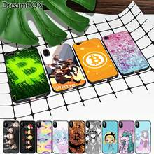 M403 Bitcoin Ahegao Harajuku Black Soft TPU Silicone Case Cover For Apple iPhone 11 Pro XR XS Max X 8 7 6 6S Plus 5 5S 5G SE