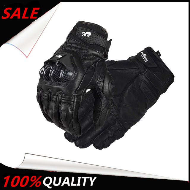 The Latest Armed Leather Mesh Gloves Knight Gloves Gants Moto Luvas de Moto Guantes de moto Motorcycle Riding Gloves