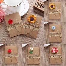 cartas flores RETRO VINTAGE