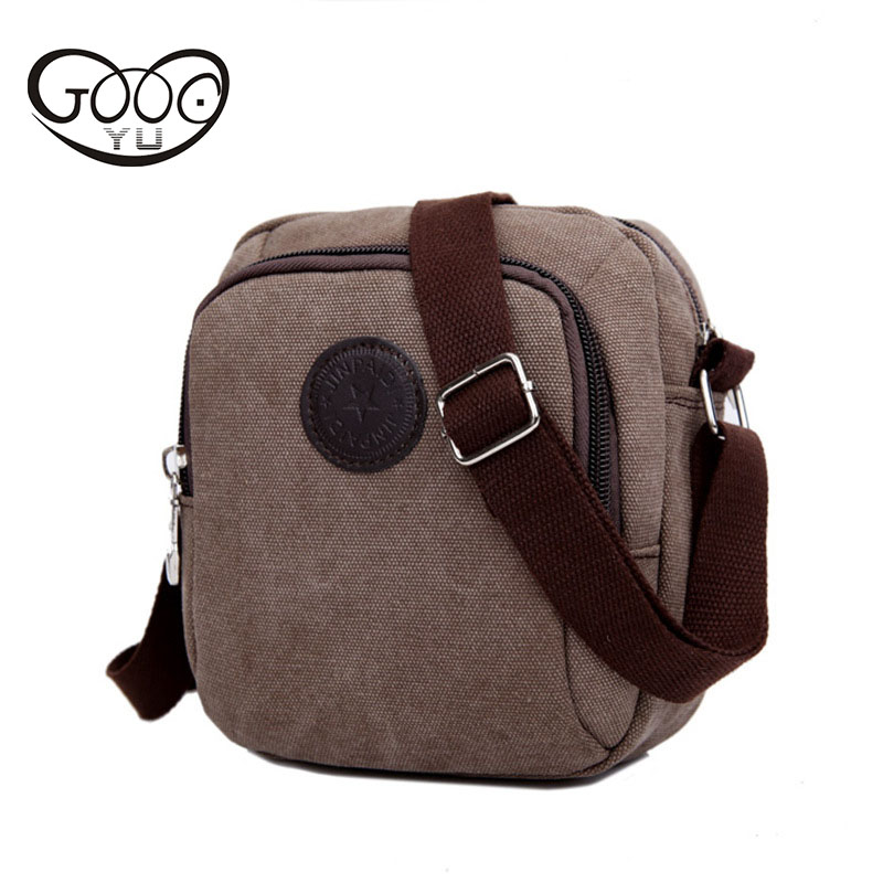 Fashion leisure retro high-grade washed canvas small messenger bag Korean multi-color vertical section of the square shoulder ba