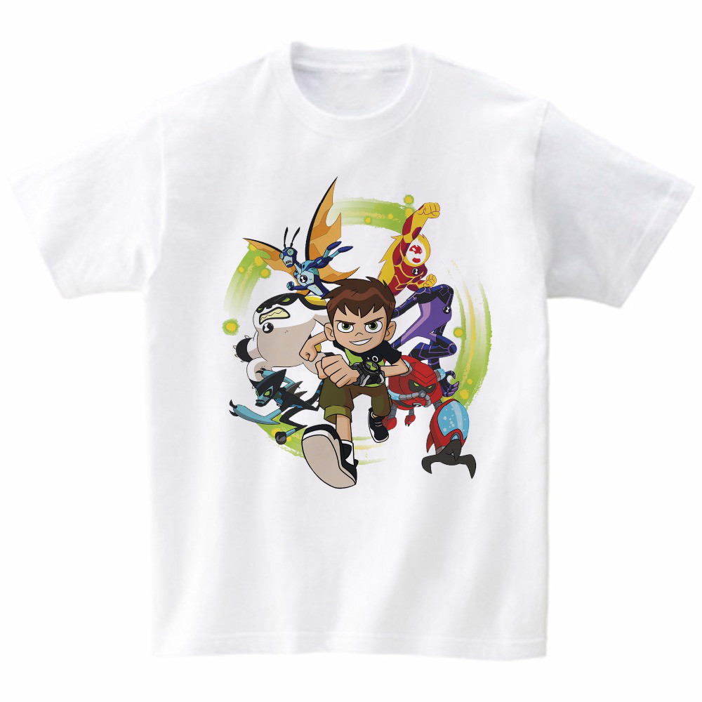 2019 New Kids T Shirt Genuine Children T-shirt Baby Toddler Summer Tops Boys Girls Anime Cartoon Tees