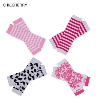 3 pares de calentadores de piernas y Rodilleras para niños, calcetines de fantasía infantiles, Rodilleras, bebés, calentadores, Meisje, tamaño libre para 0-3 años