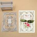 Layering Frame Metal Cutting Dies Stencils for DIY Scrapbook Photo Album Paper Card Decorative Craft Embossing Die New 2018